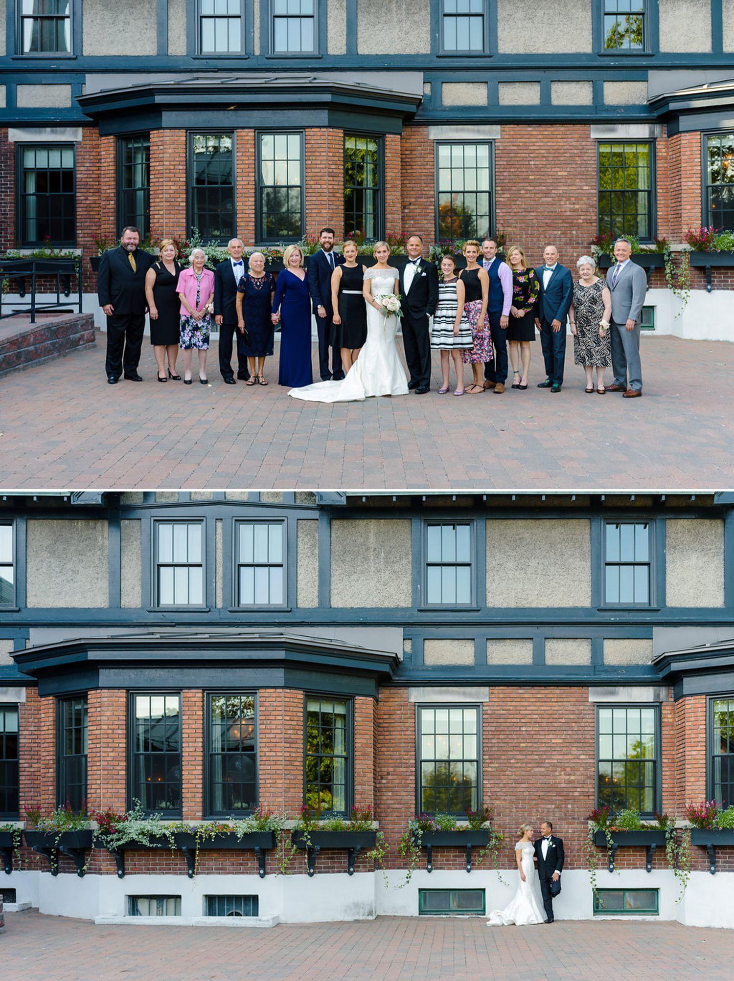 group photograph outside the royal ottawa golf club