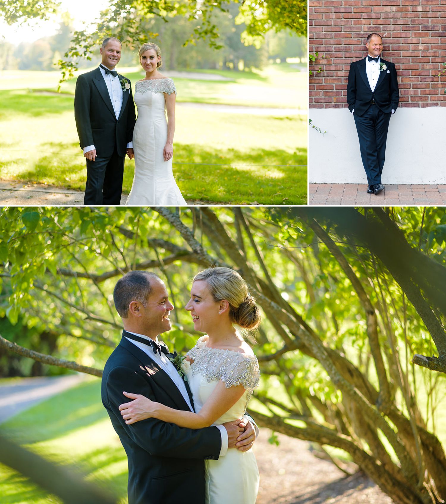 classic couples photographs at a golf course in ottawa