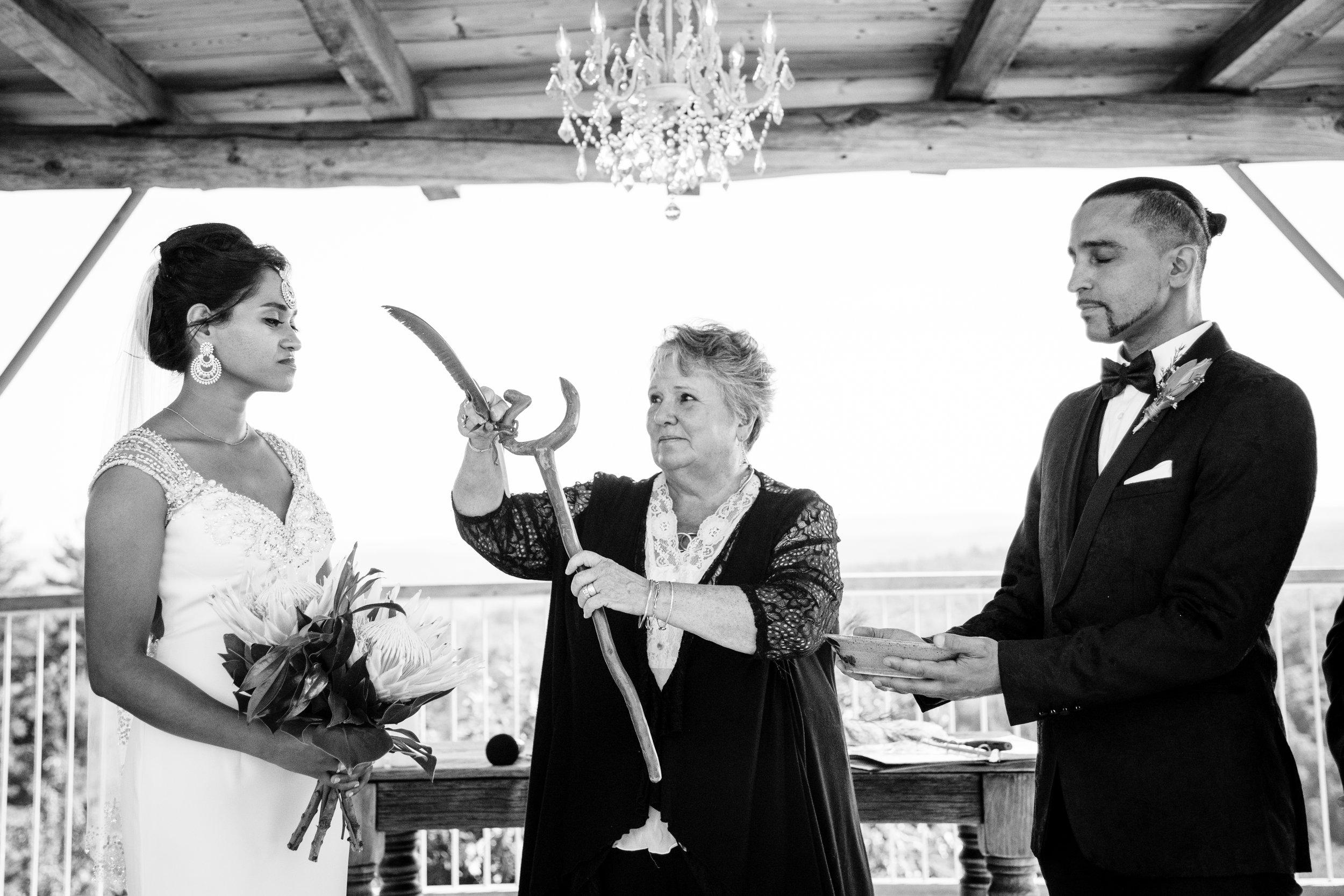 photo of a le belvedere wedding photo