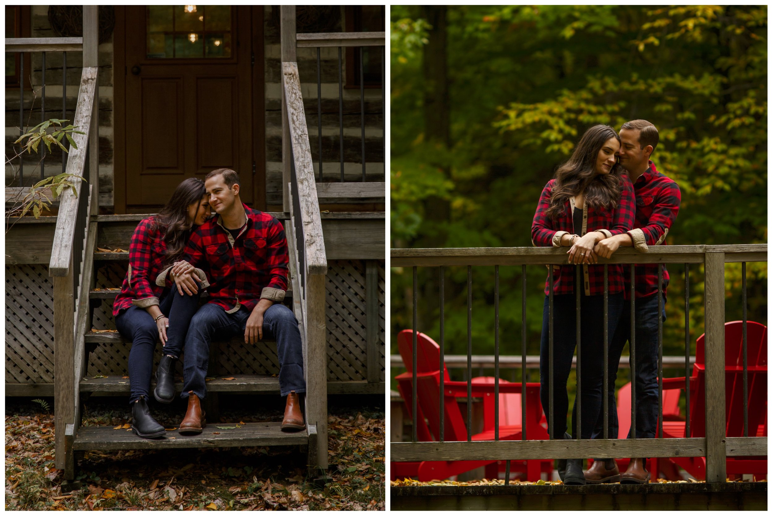 a fall engagement shoot in ottawa