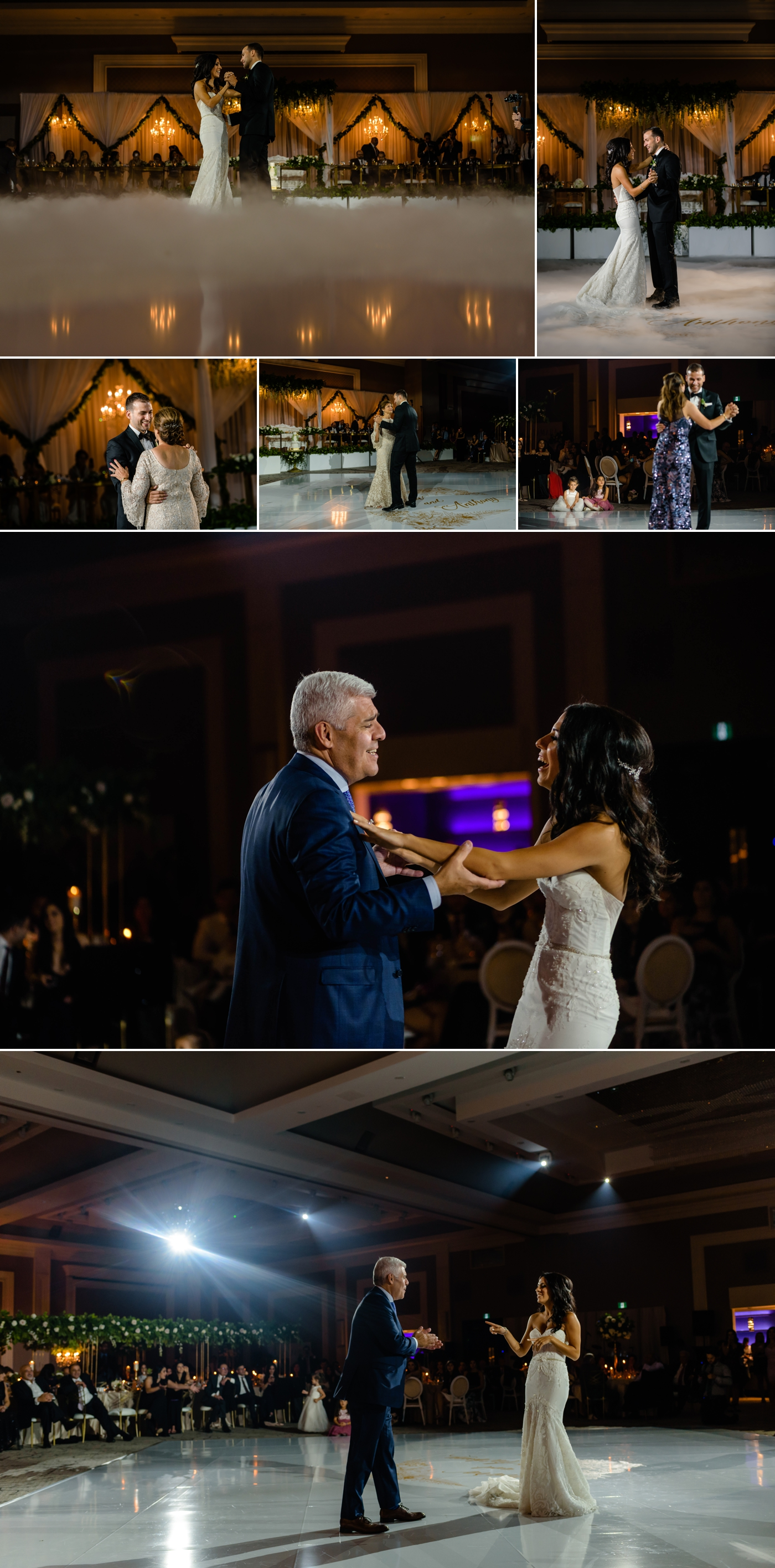 first dances during a lebanese wedding reception at the infinity centre in ottawa