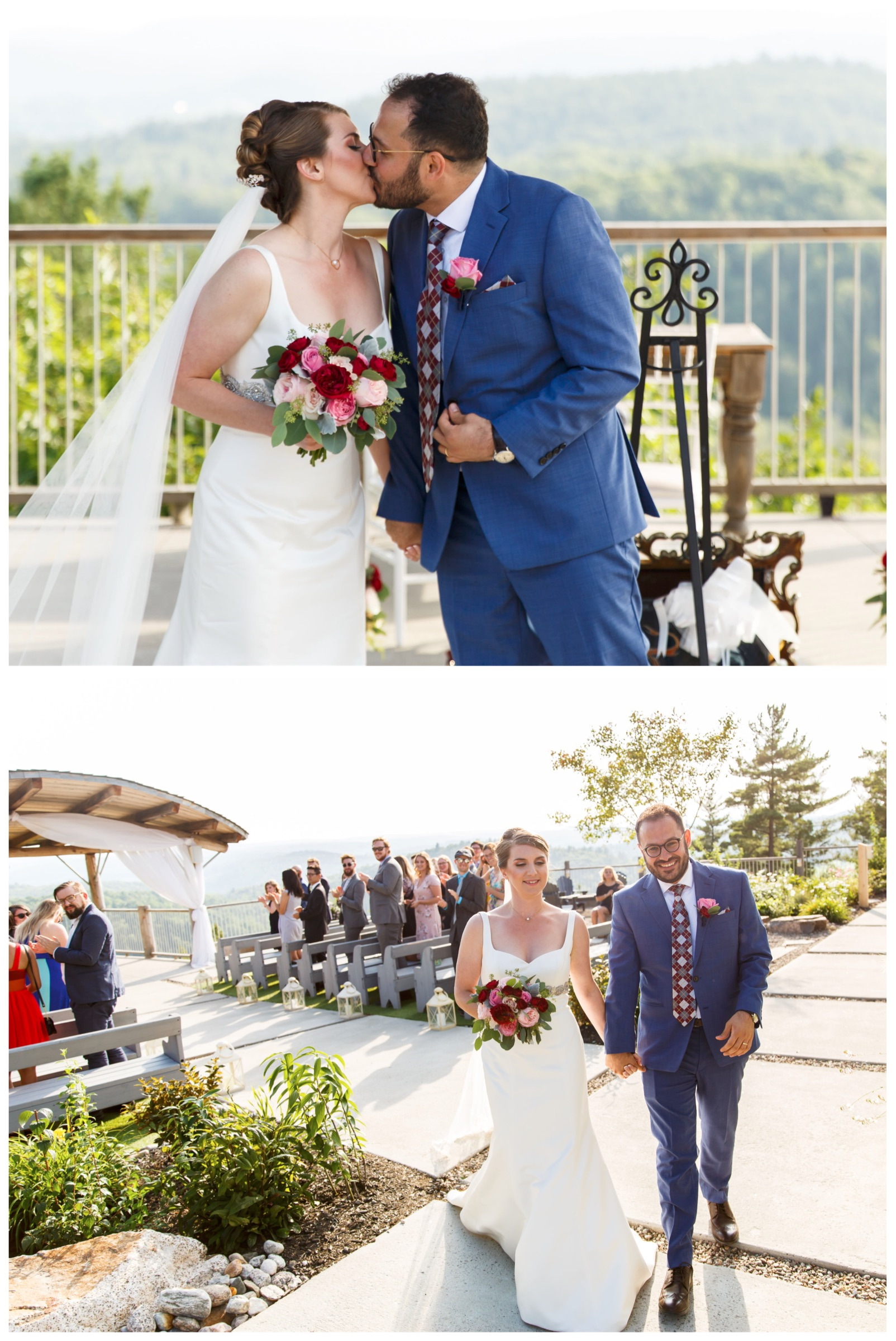 first kiss and recessional