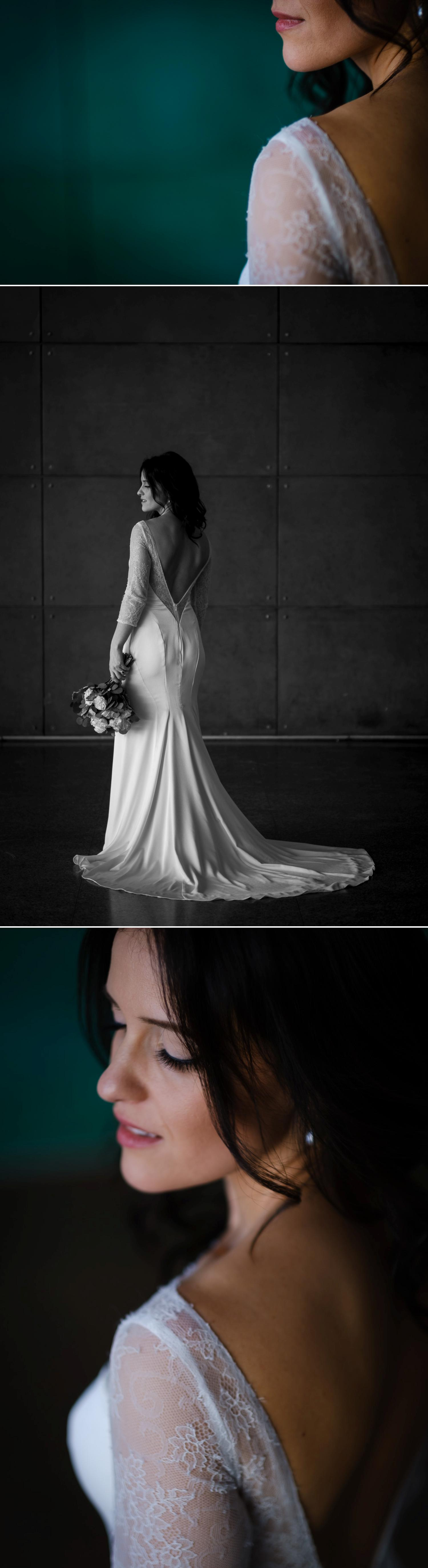 Bridal portraits in Ottawa City Hall