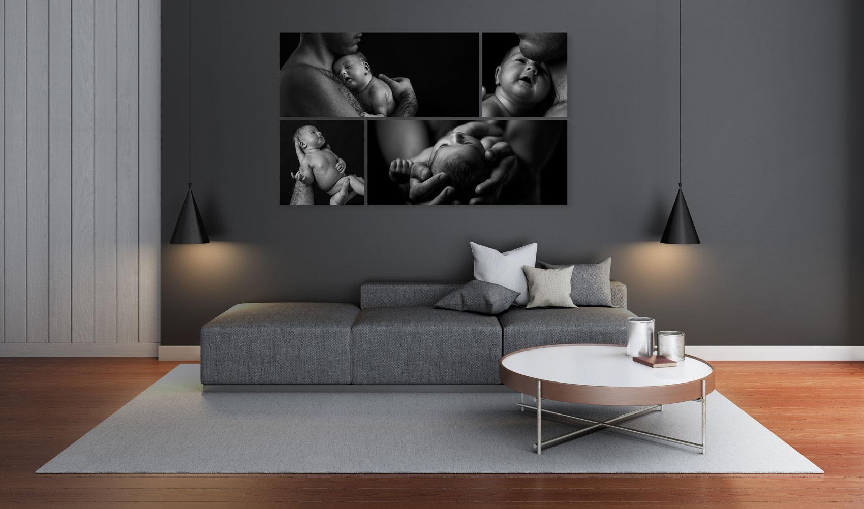 example artwork of portrait photographs