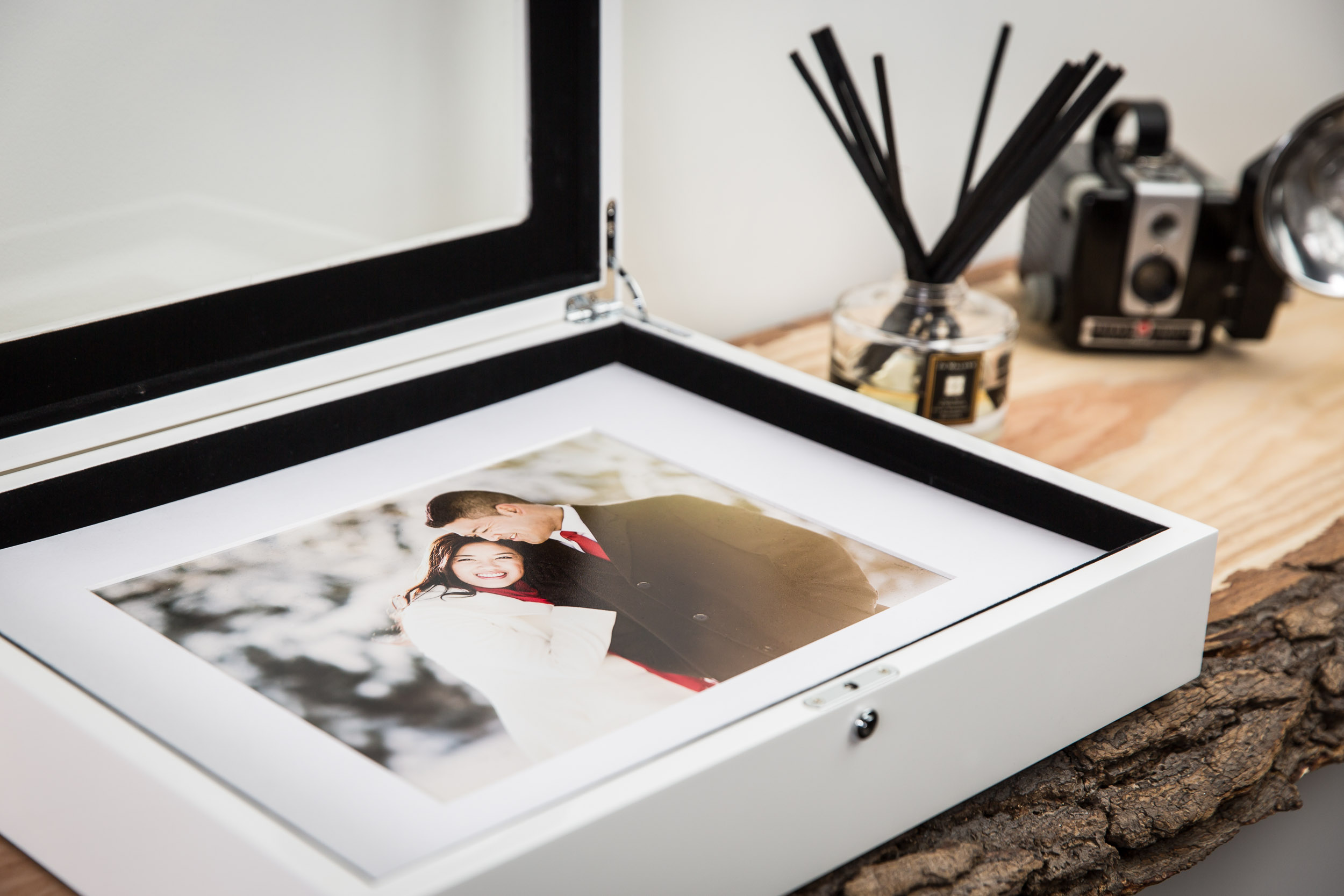 a sample portrait box