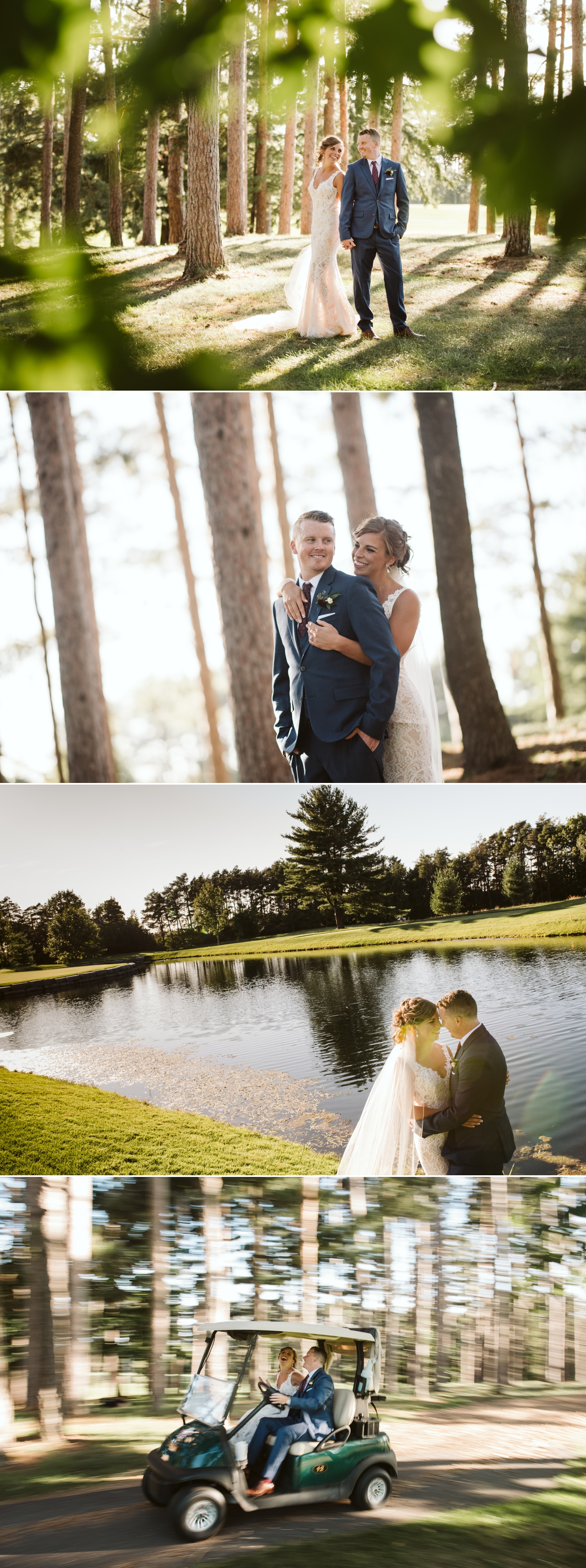 bride and groom portraits at a hunt and golf club wedding in ottawa ontario