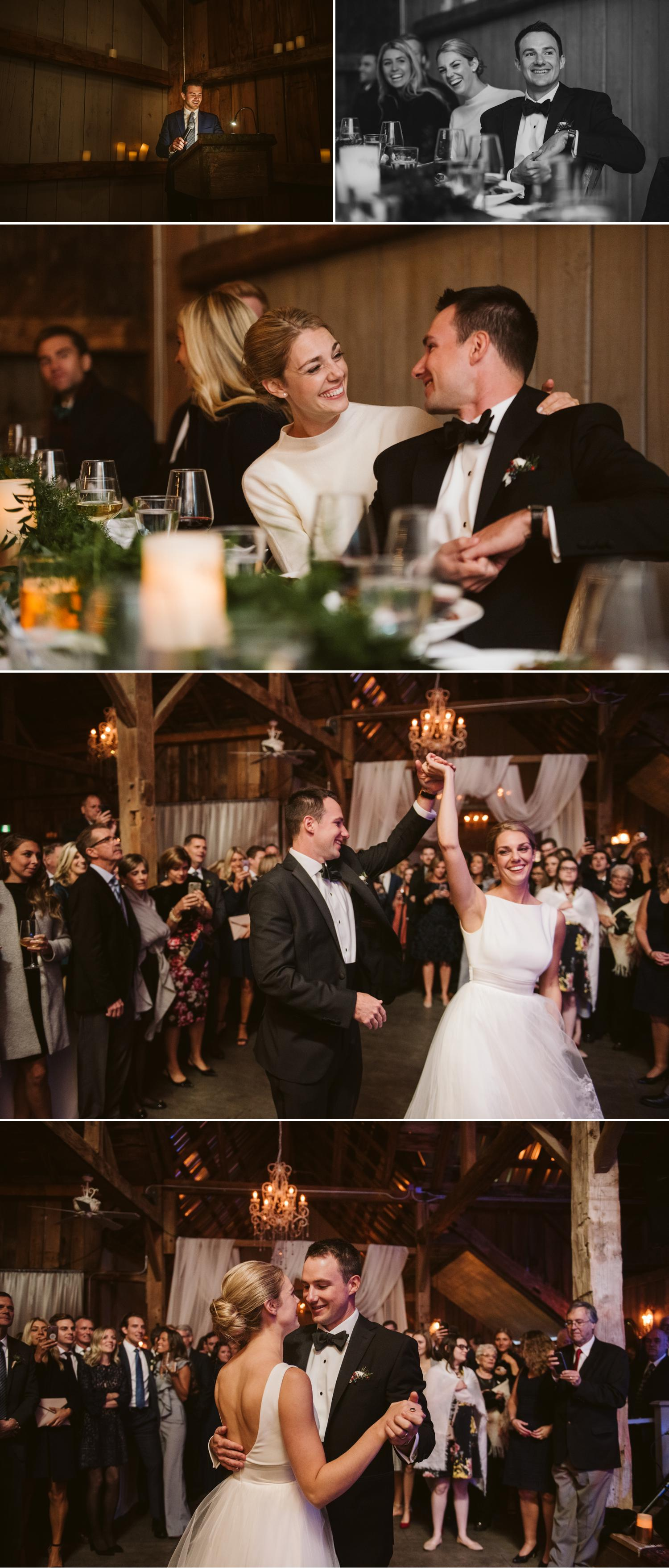 Wedding Reception at evermore events