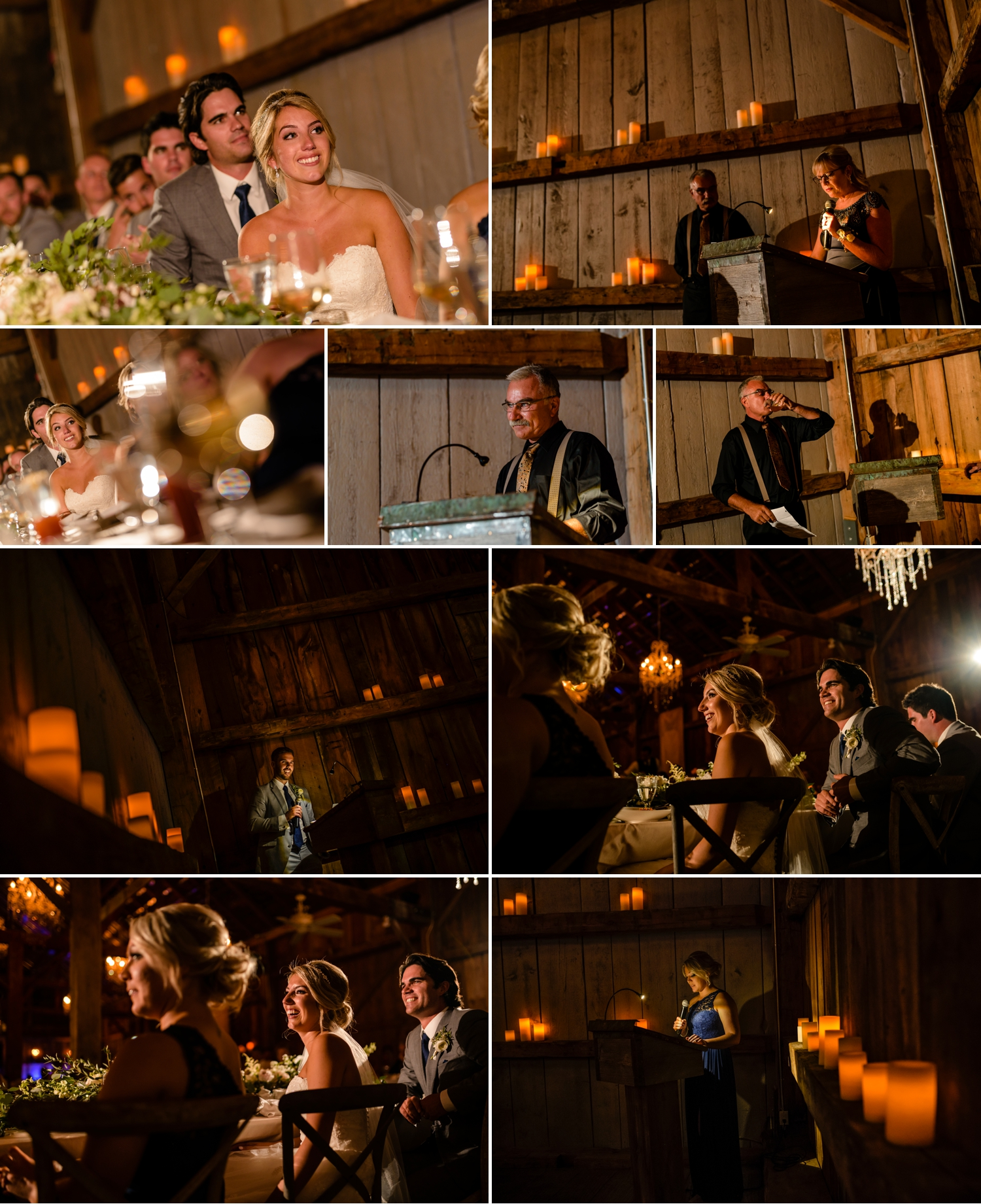 candid and natural moments during an evermore weddings and events wedding reception in almonte ontario