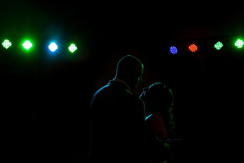 bride and groom first dance calabogie peaks ontario