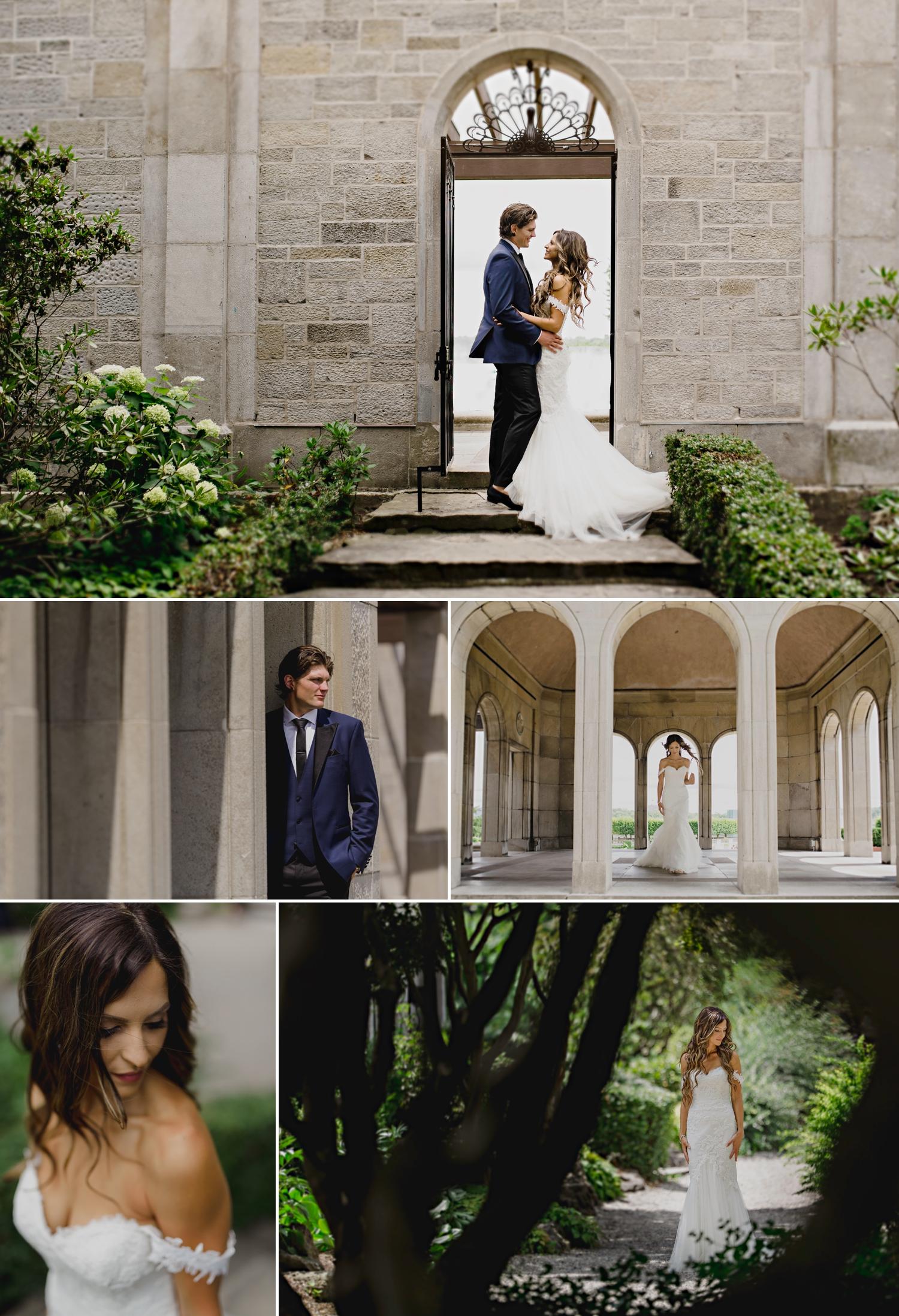 photos of the brides groom at a park near niagara falls ontario