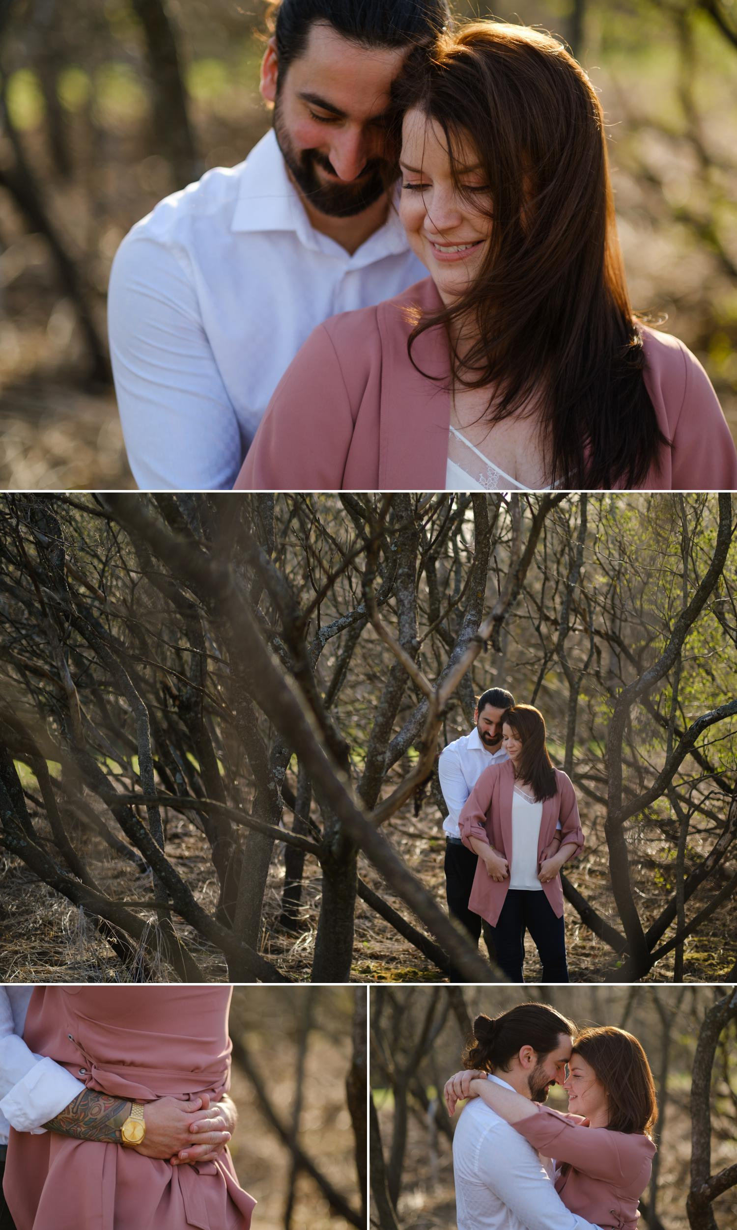 photos of an engaged couple in ottawa ontario