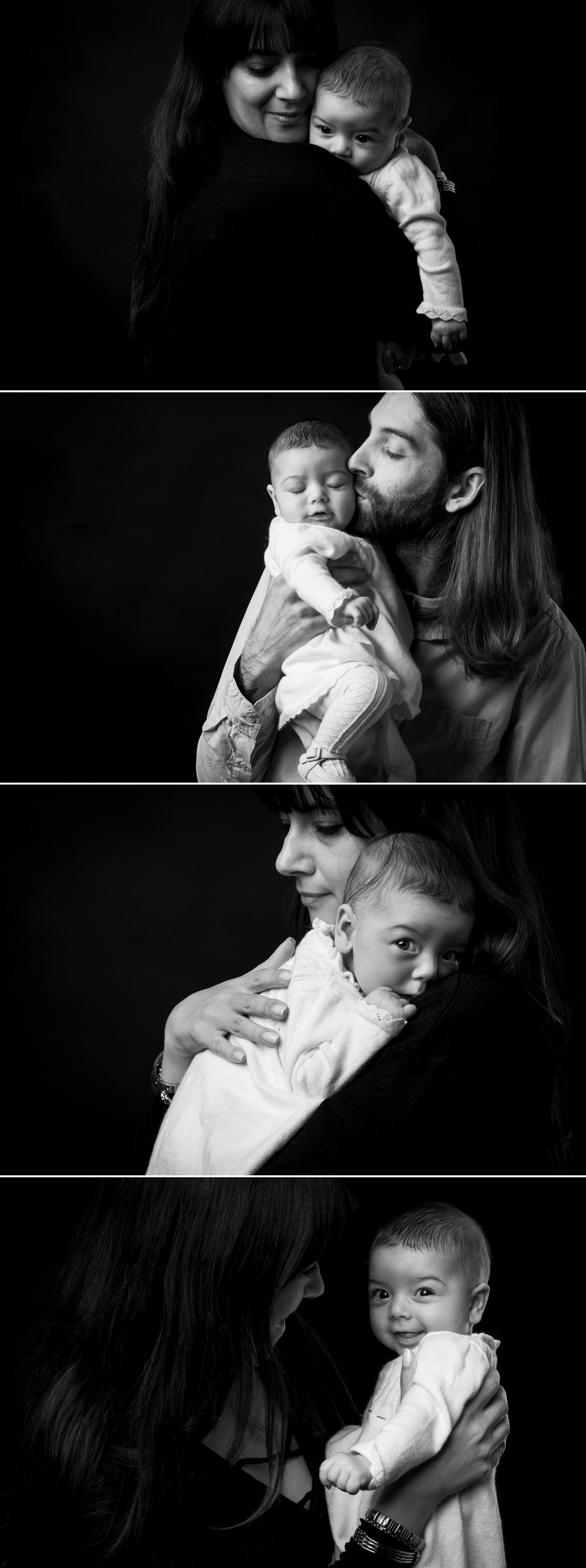 photographs of a baby at a studio session in ottawa