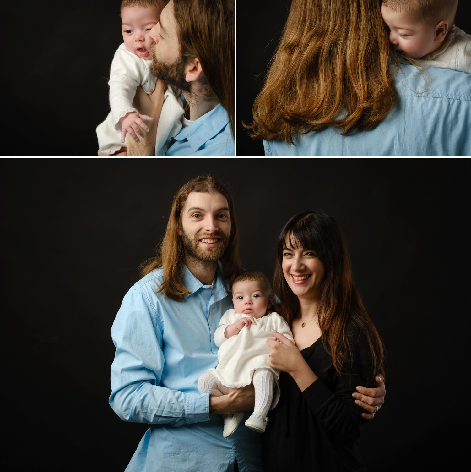 newborn father daughter photos