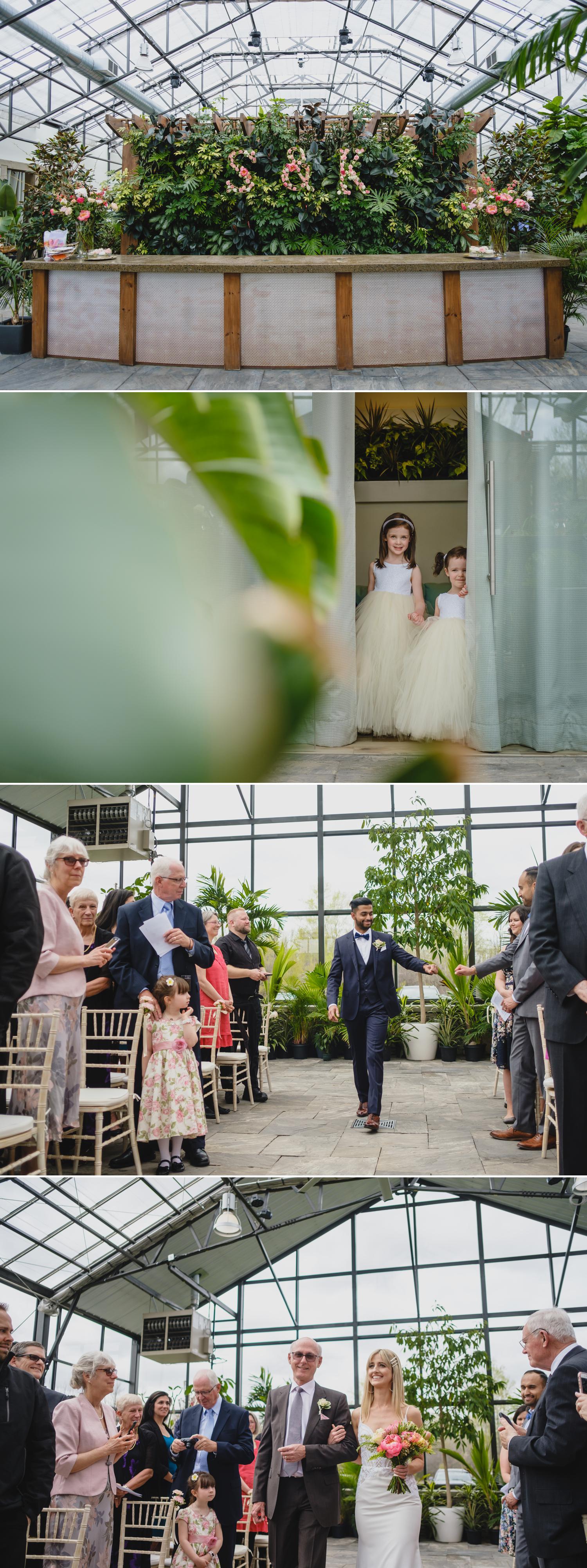 wedding ceremony at aquatopia in ottawa