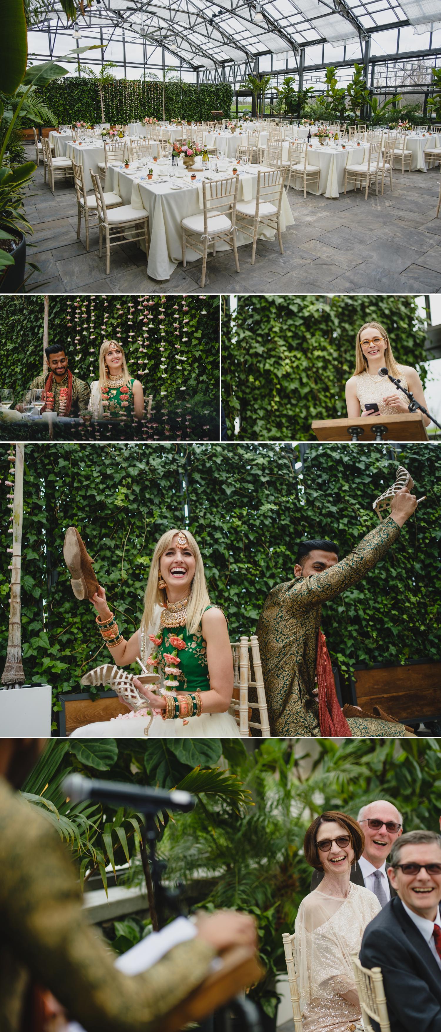 wedding reception at aquatopia