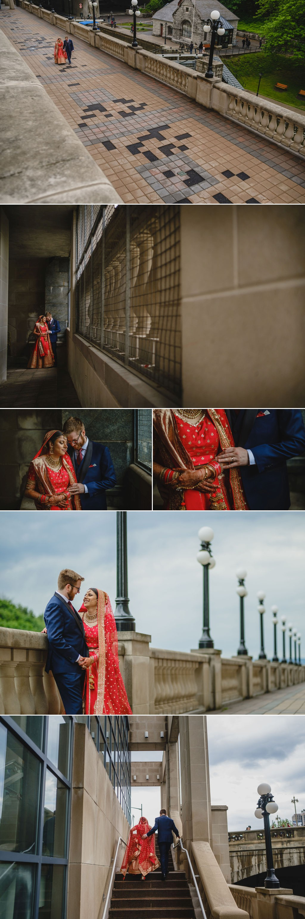 wedding photographs at the chateau laurier in ottawa