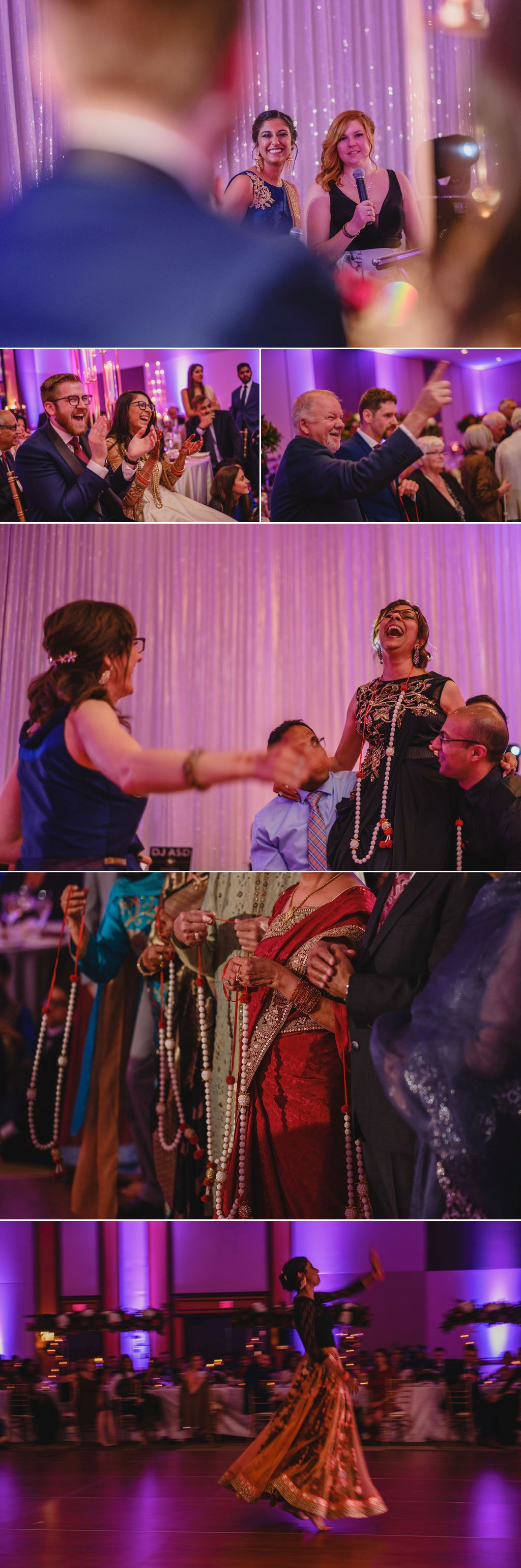 photos from an indian wedding reception at the westin in ottawa
