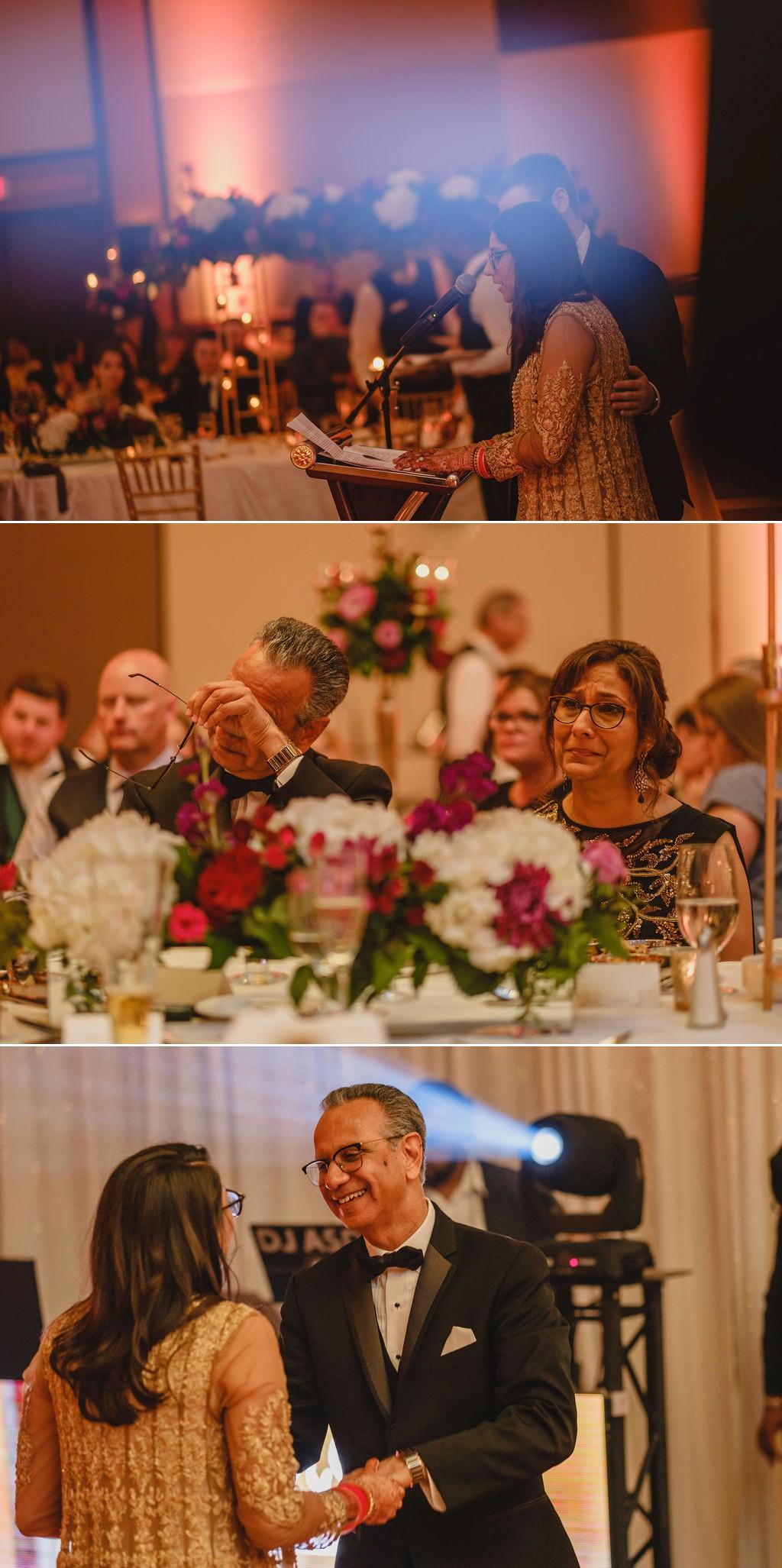 candid emotional wedding photographs