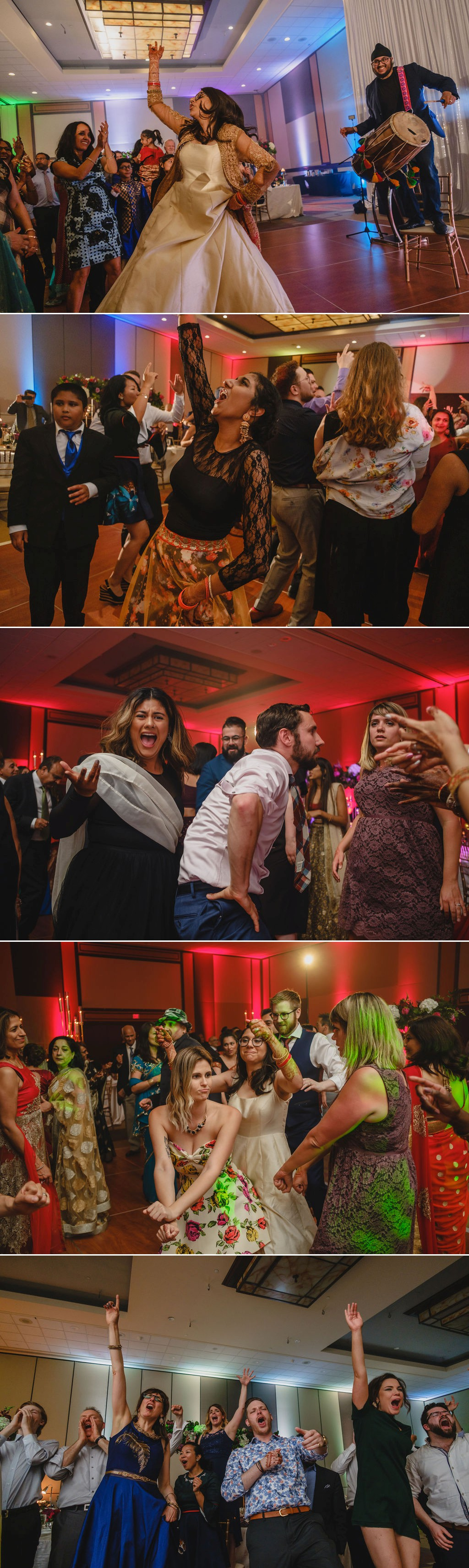 photos of dancing at a wedding reception