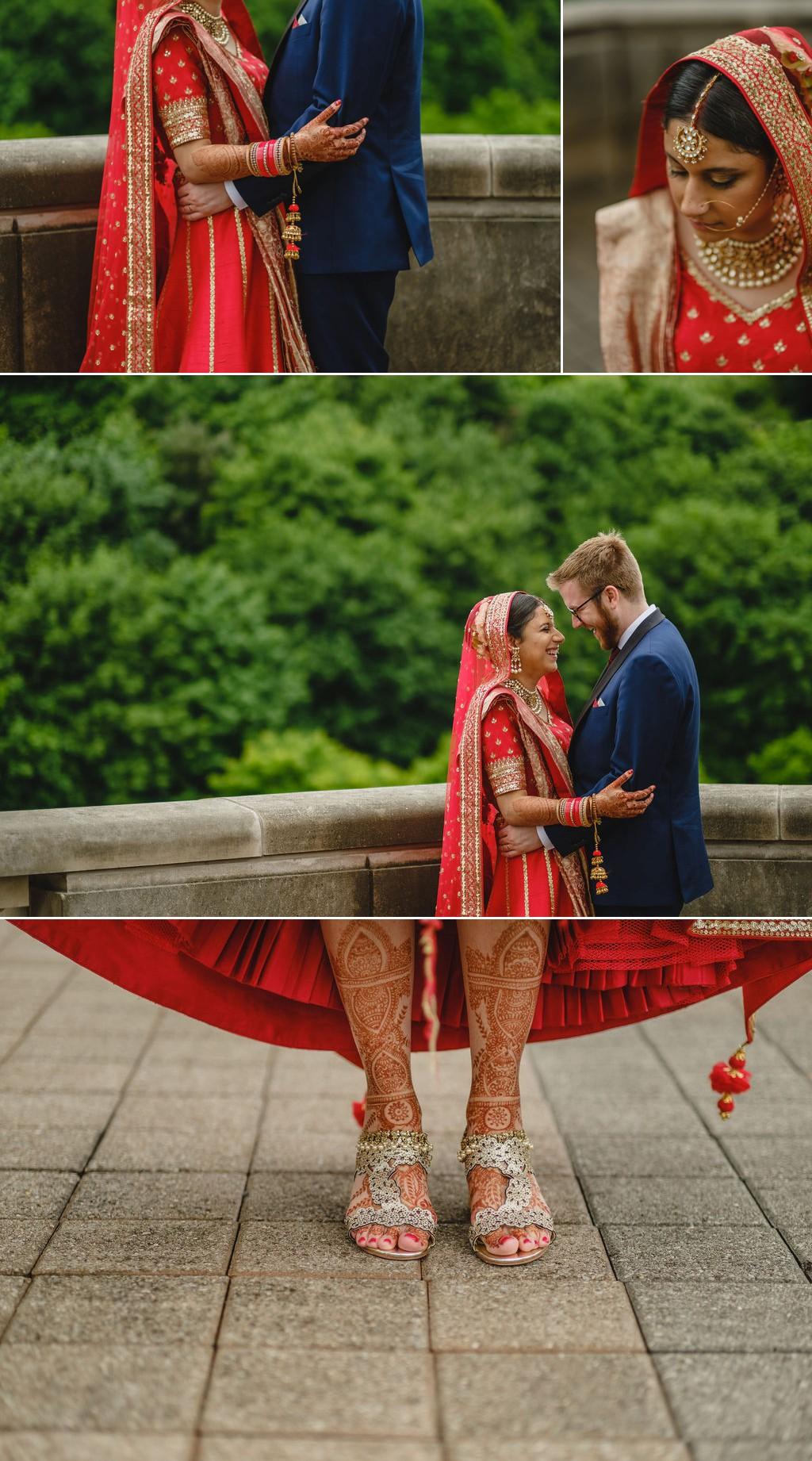 couples photographs at le chateau laurier
