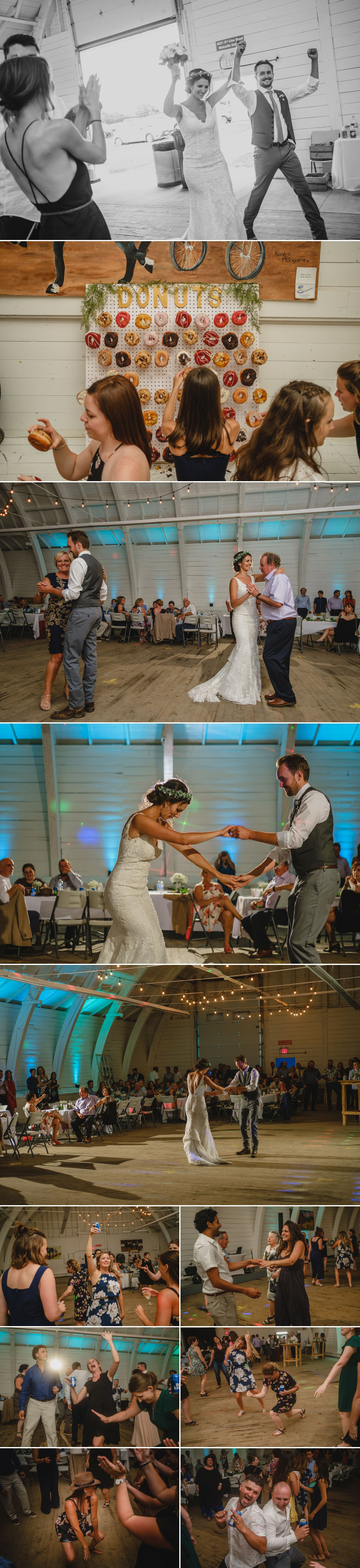 candid moments during a metcalfe ontario wedding reception