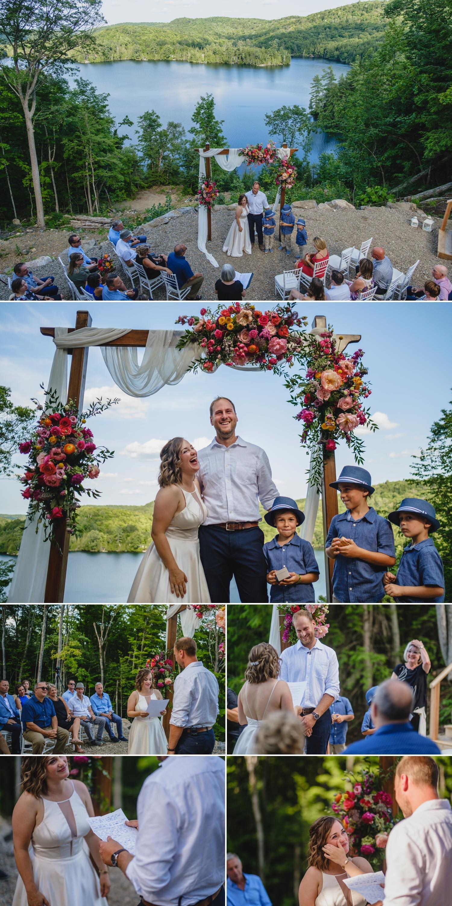 an outdoor wedding in ottawa