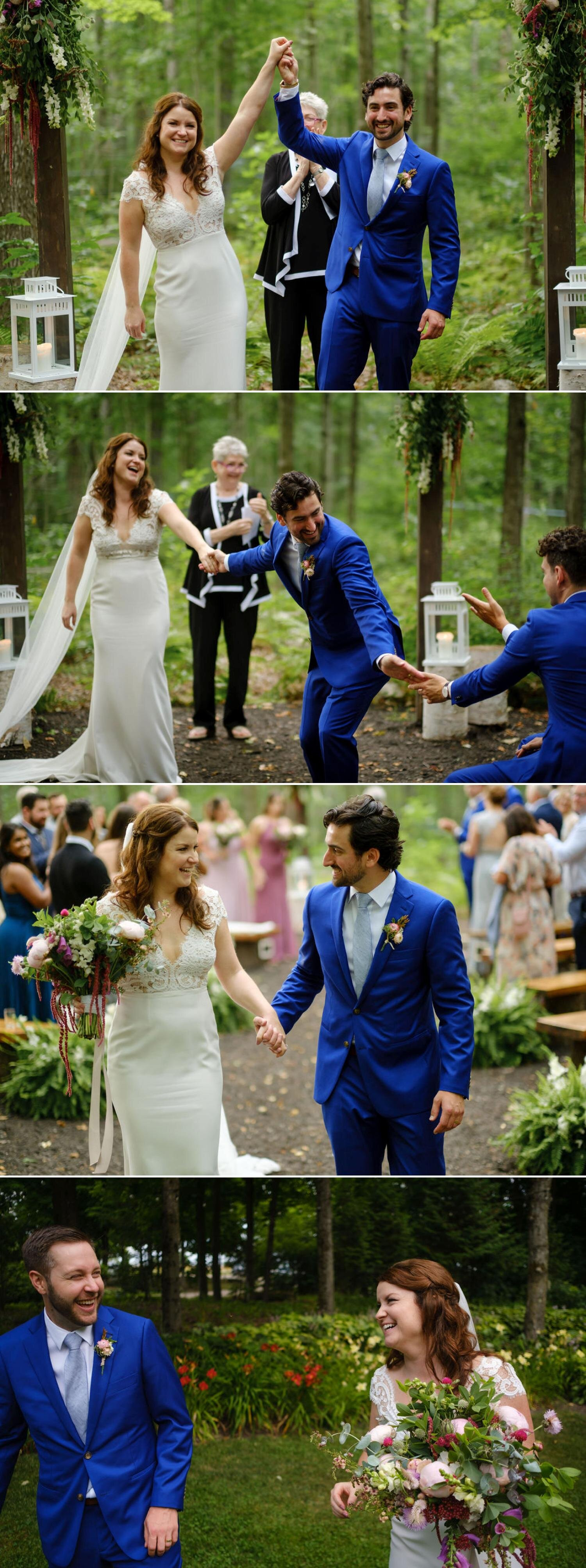 wedding photographs from temples sugarbush