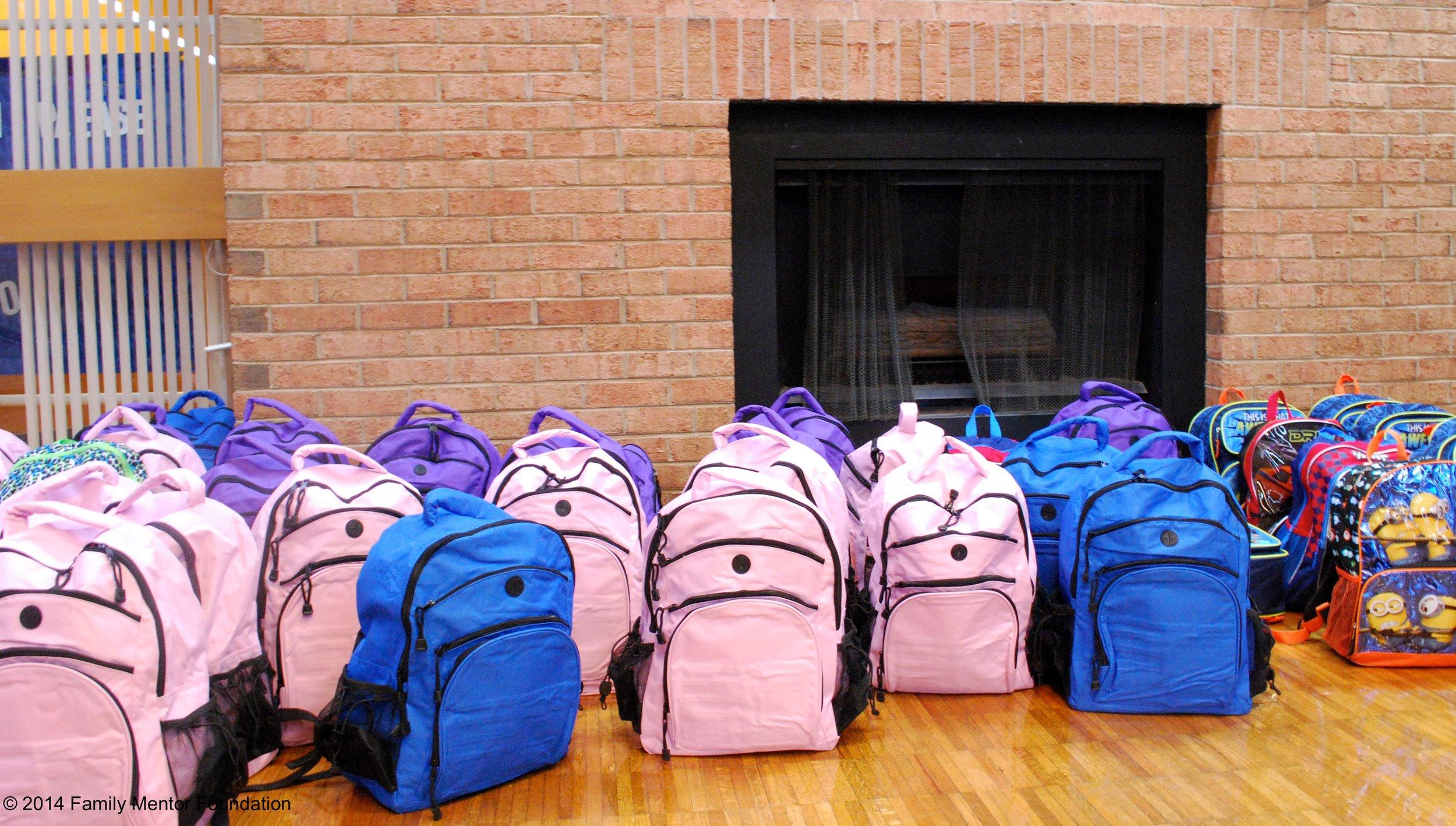 Backpack Buddy Bags, 2015