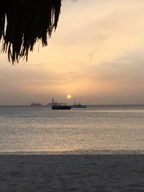 aruba 15 sunset