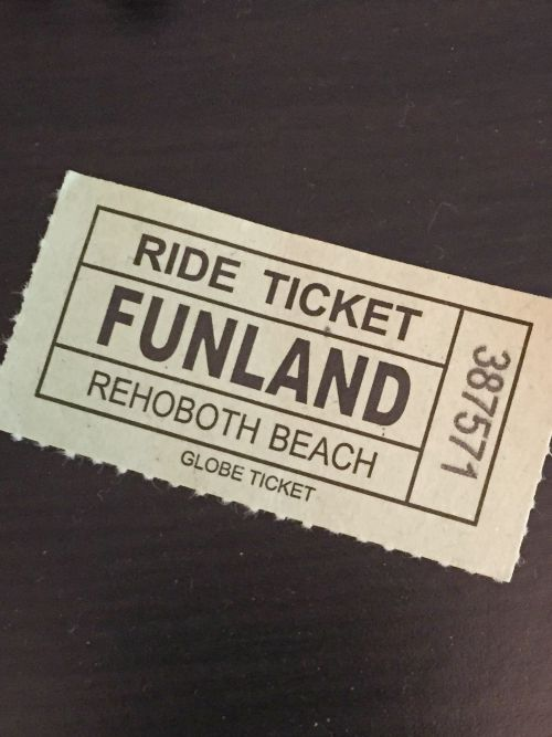 bethany 15 ride ticket