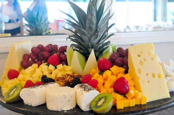kim shower cheese plate