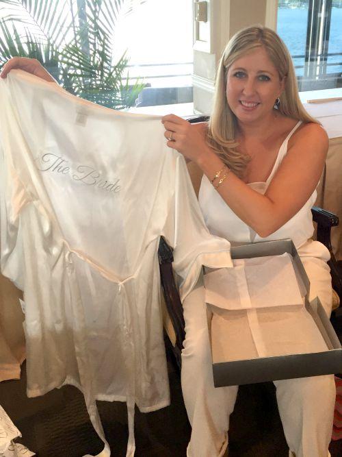 kim shower bride