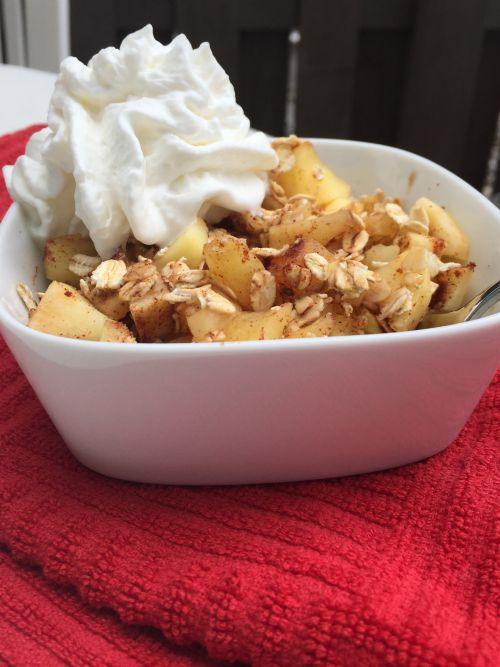 microwave apple crisp4