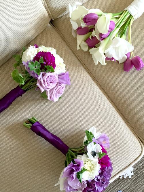 kims wedding bouquets