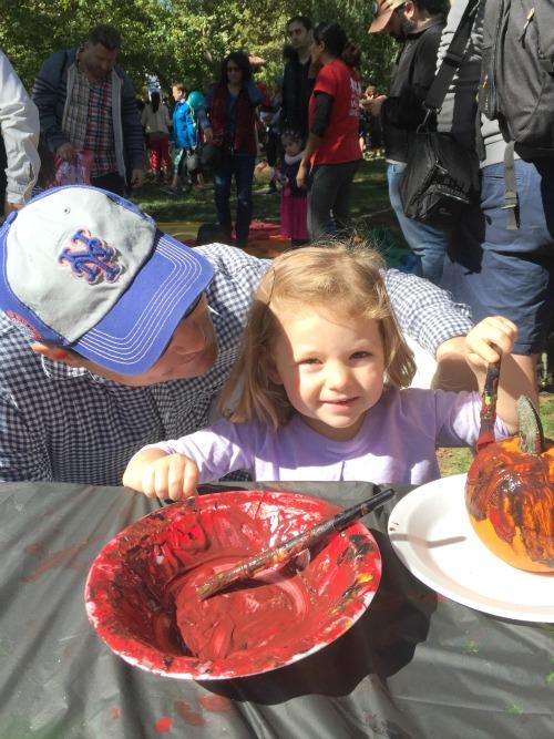 harvest fest pumpkin paint2