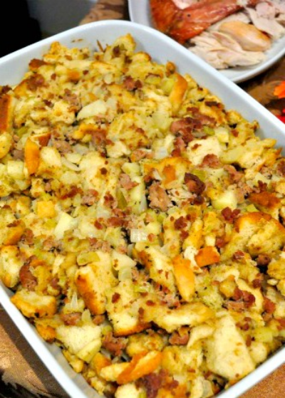 sweatsgiving stuffing
