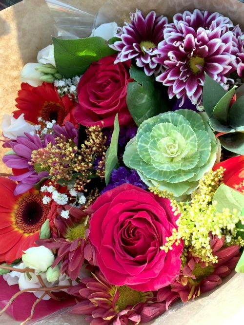 fall 15 flower bouquet