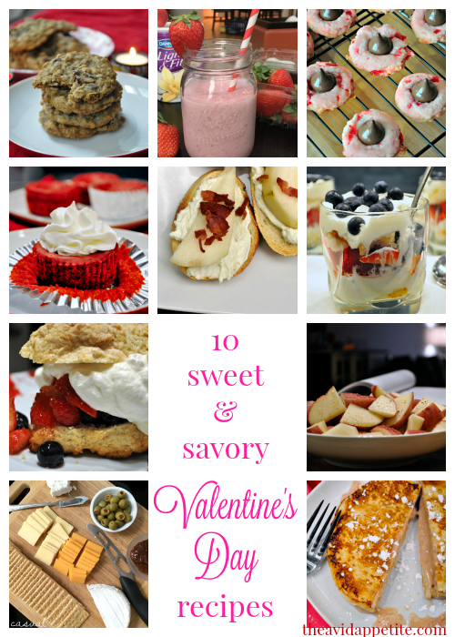 10 sweet & savory valentines day recipes