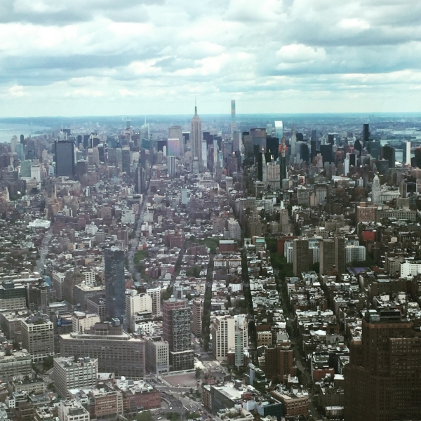 taken atop the one world observatory, back in may '16. I can't remember if I ever shared it with you, but wowza!