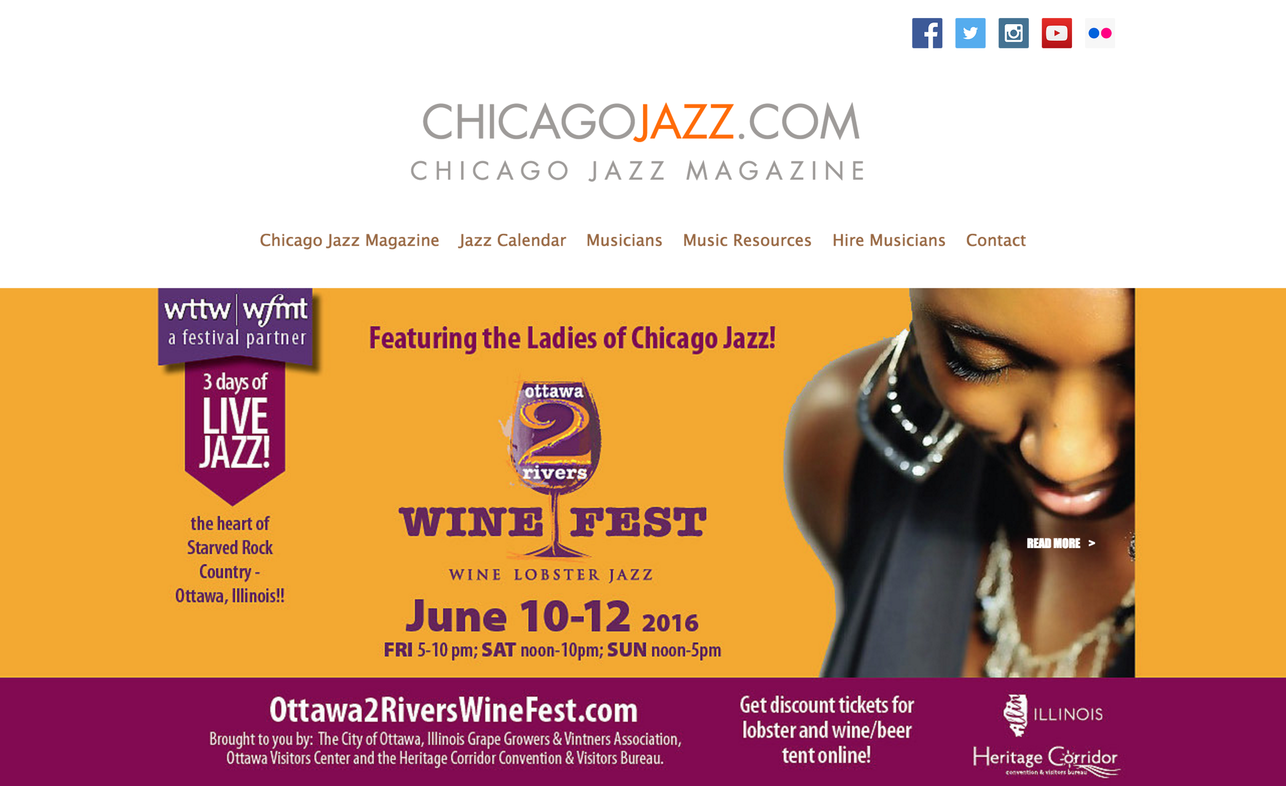 The #1 Resource for Jazz in Chicago  by Mike Jeffers
