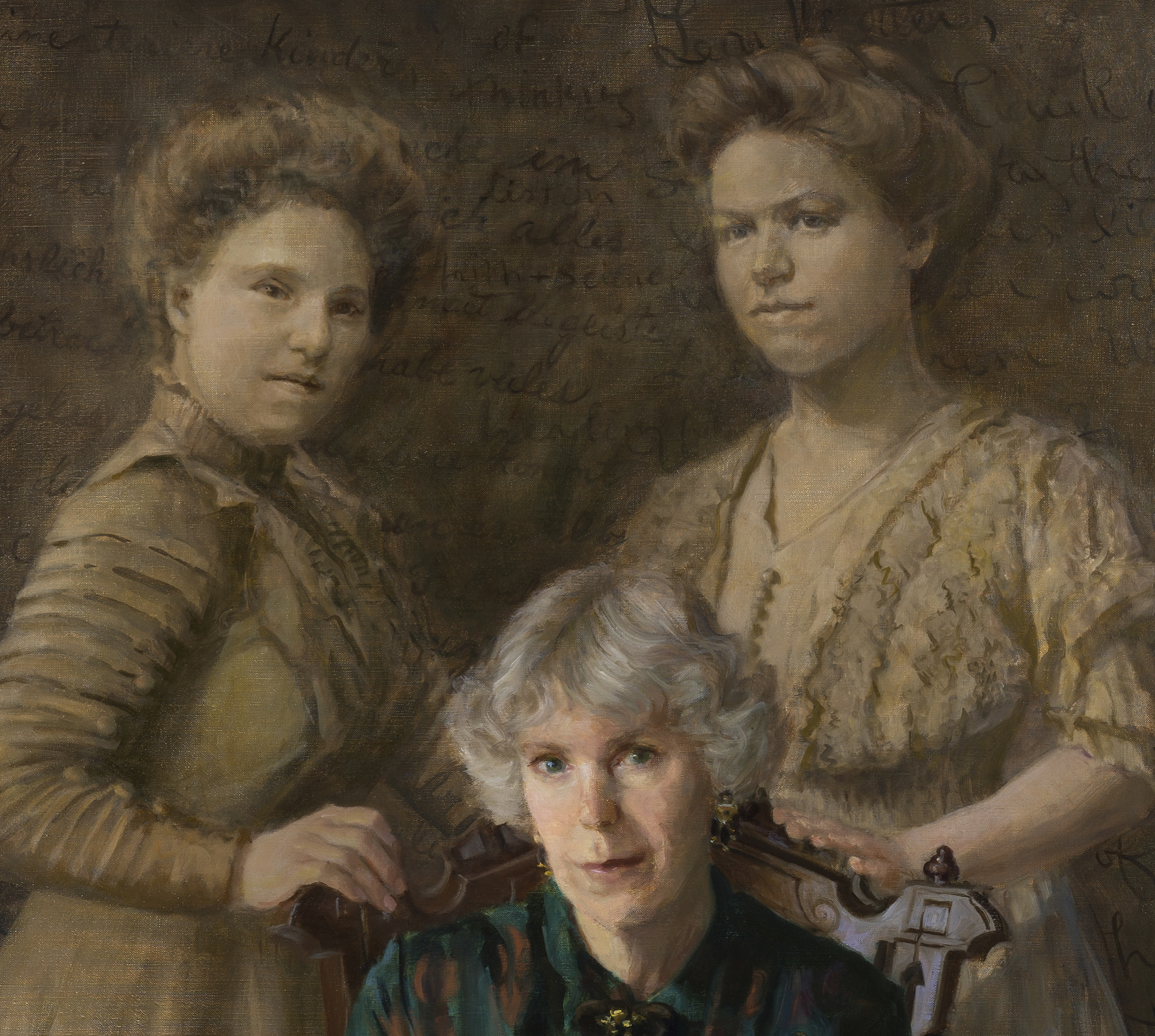 The Grandmothers   , detail
