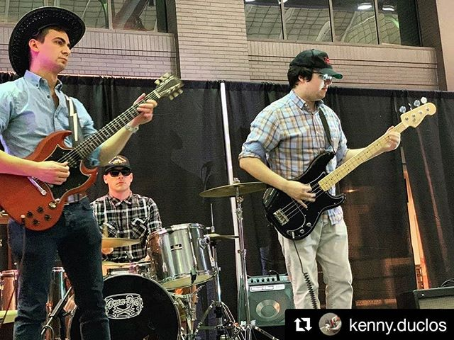 These beautiful boys is our heart, soul, & fat dicks. Rocking out with these fellas is an absolute dream. THANK YOU FOR YOUR SERVICE.  #Repost @kenny.duclos ・・・ Playing in bands is fun and all but playing in a comedy band is the best, especially when it's with @gacdrifters. 📸 @lindsayroblesi