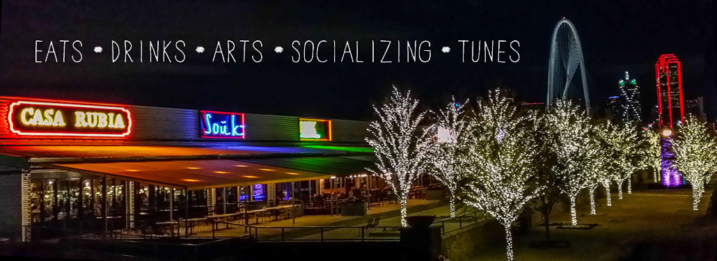 Trinity Groves  is a new restaurant, retail, artist and entertainment destination at the base of the Margarte Hunt Hill Bridge in West Dallas. Trinity Groves will foster concepts and businesses and capitalize on Dallas' culture of innovation and entrepreneurism.