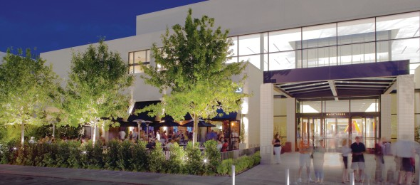 """North Park Center  is a large enclosed upscale shopping mall located in Dallas. North Park is consistently ranked among the top five shopping destinations in the country and, with more than 26 million visitors annually, has been named the top attraction in the Dallas-Fort Worth Metroplex by the  Dallas Business Journal  and as one of the """"7 Retail Wonders of the Modern World"""" by  Shopping Centers Today ."""