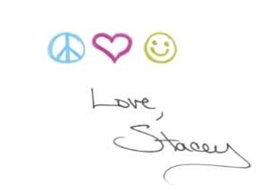 Peace Love Happiness Stacey