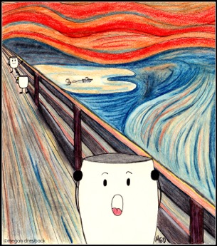 The Scream - Mallows - Megan Dresback