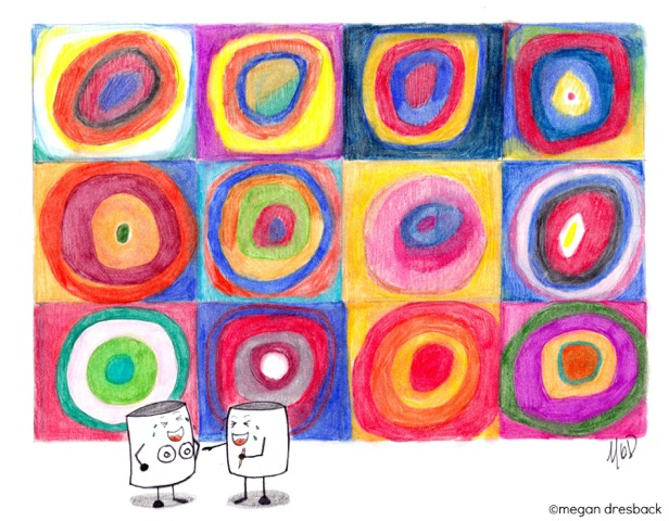 Kandinsky - Mallows - Megan Dresback