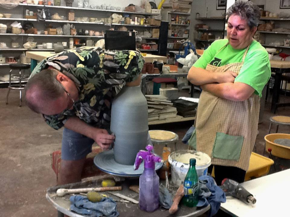 pottery class - Clay Arts Vegas - Las Vegas Nevada