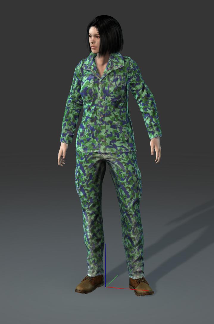 Field: R-45, P-60, light battle suit