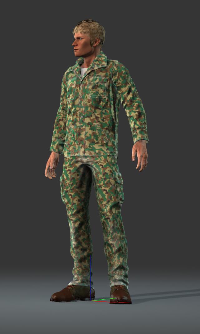 Field: R-70, heavy battle suit, 4x grenade